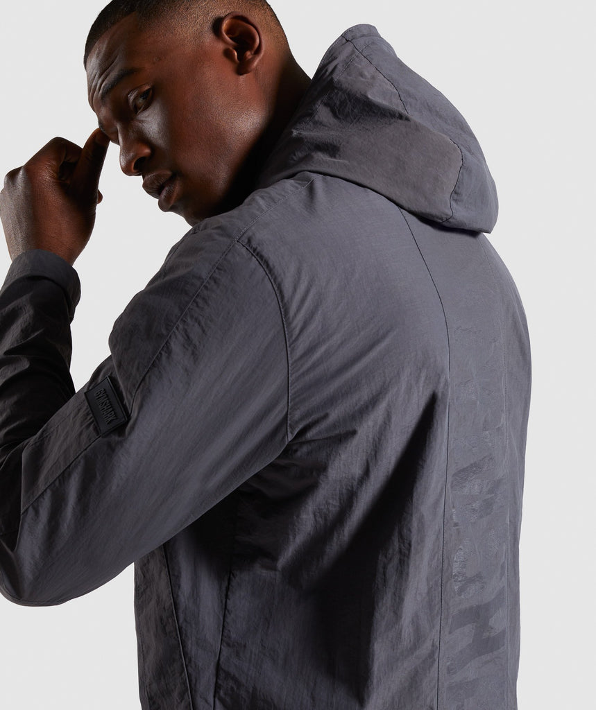 Gymshark Laundered Jacket - Charcoal 5