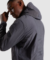 Gymshark Laundered Jacket - Charcoal 11
