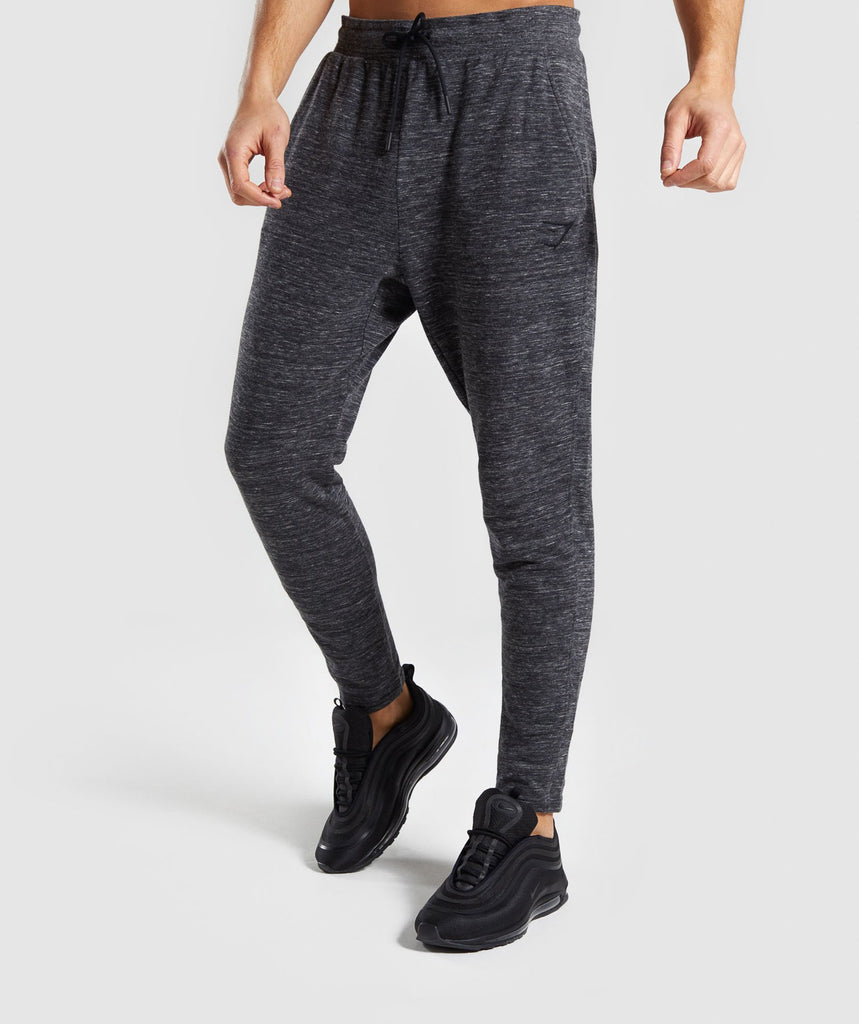Gymshark Lounge Joggers - Charcoal Marl 1