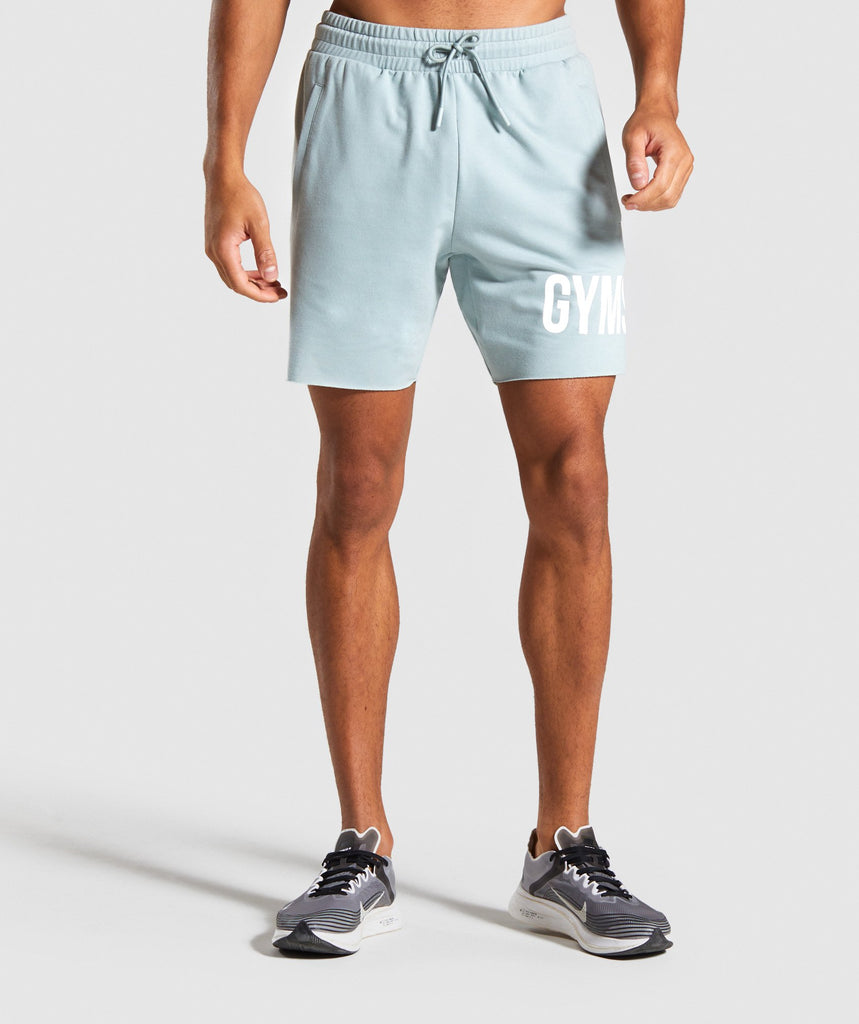 Gymshark Maximize Shorts - Light Blue 1