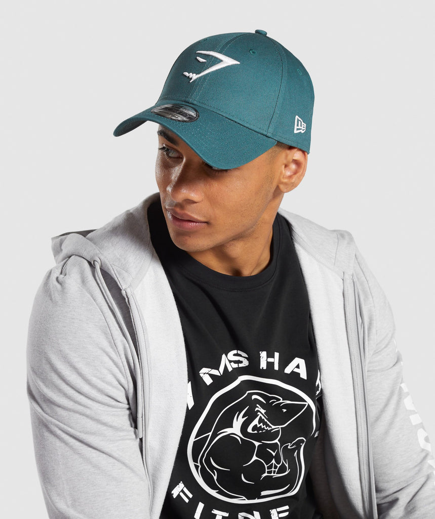 Gymshark New Era 9FORTY Adjustable - Turquoise 1