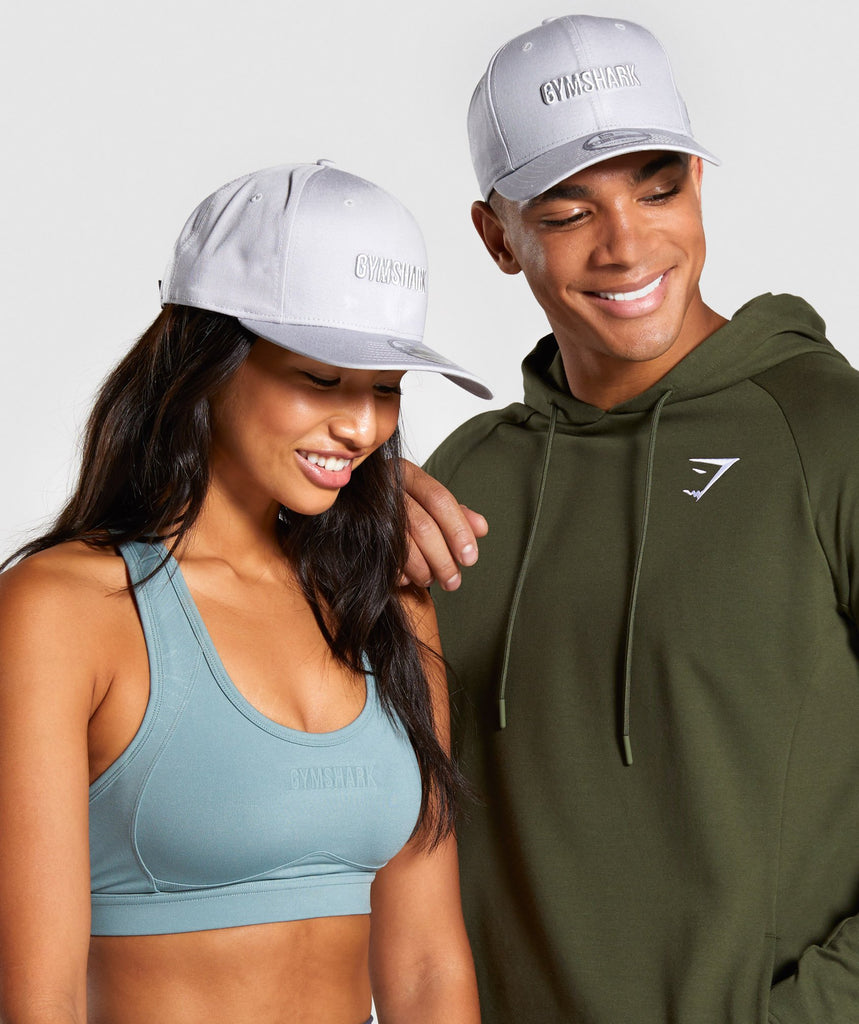 Gymshark New Era Gymshark 9FIFTY - Grey 1