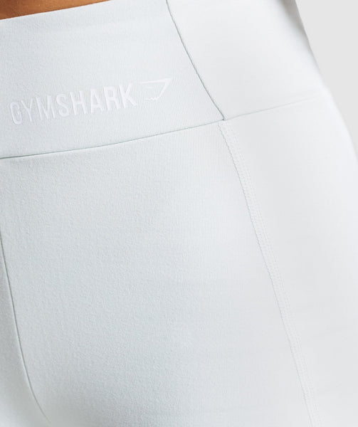 Gymshark Pastel Cycling Shorts - Sea Foam Green 4