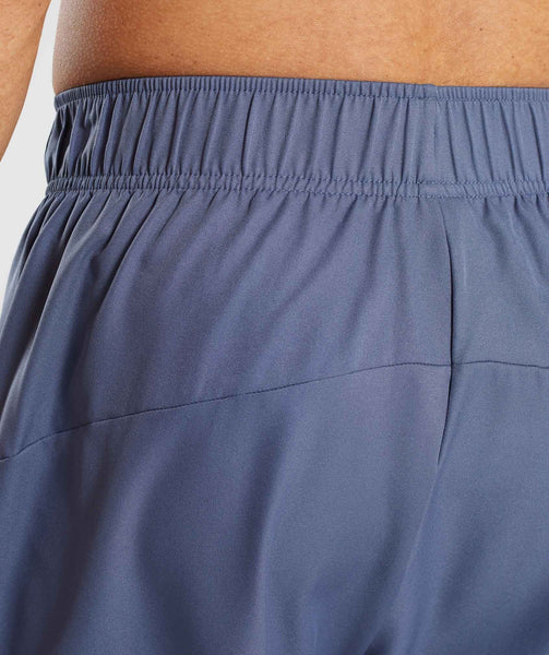 Gymshark Primary Shorts - Aegean Blue 4