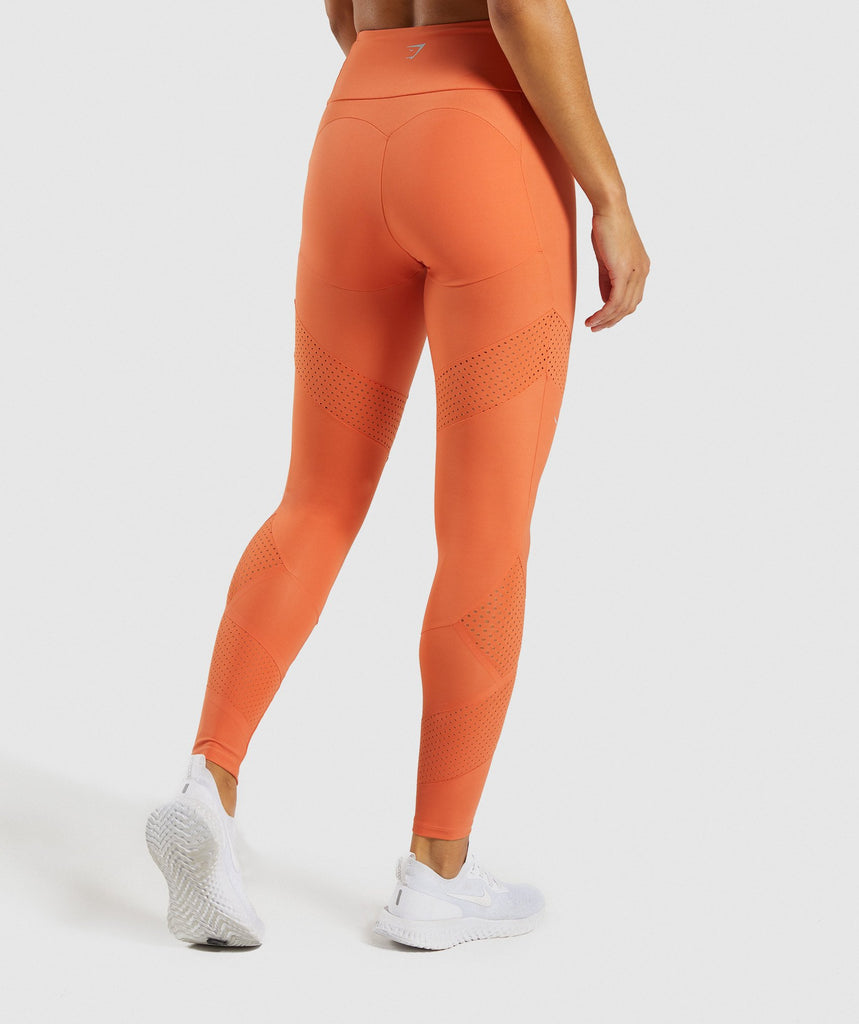 Gymshark Pro Perform Leggings - Burnt Orange 2