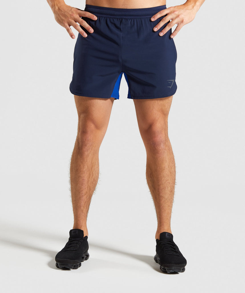 Gymshark Speed Shorts - Blue 1