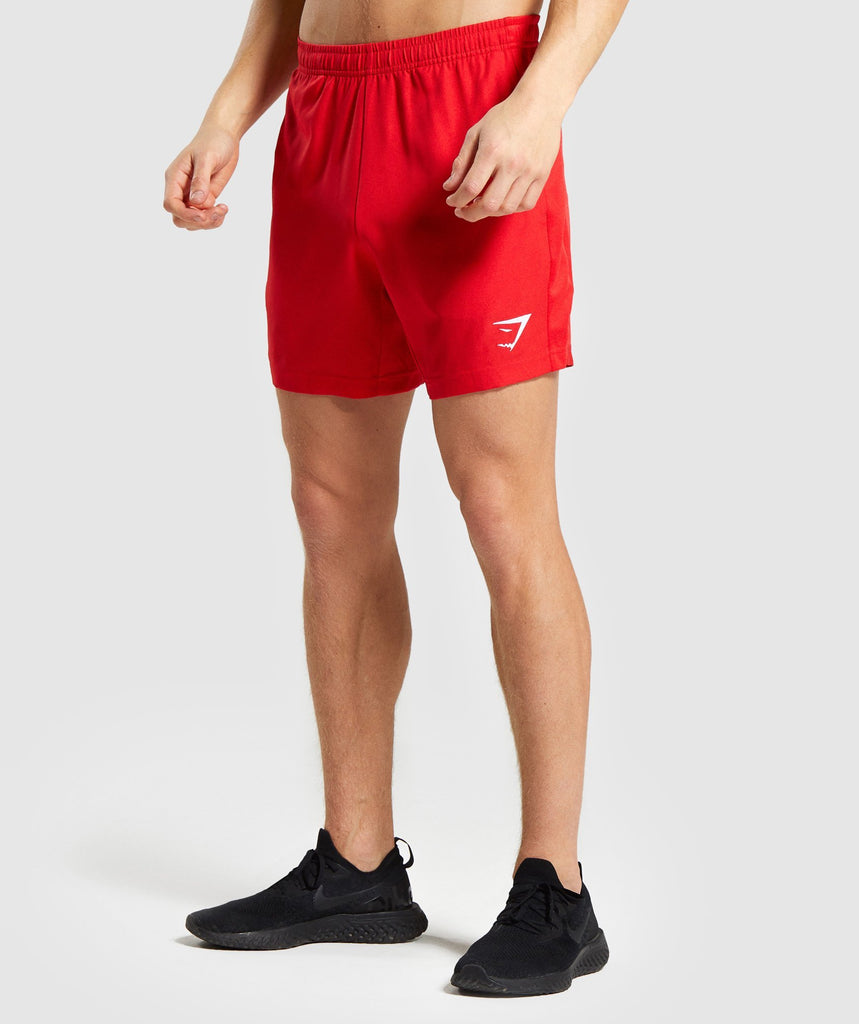 Gymshark Sport Shorts - Red 1