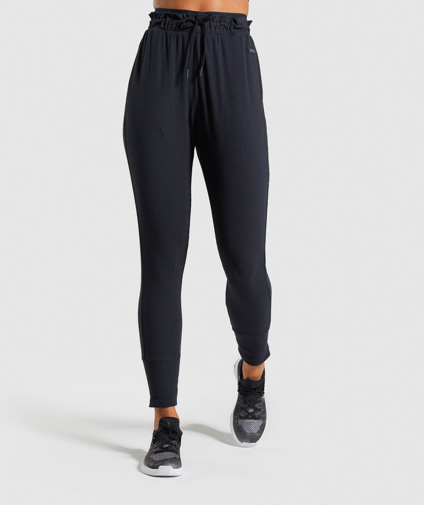 Gymshark Studio Pants - Black 1