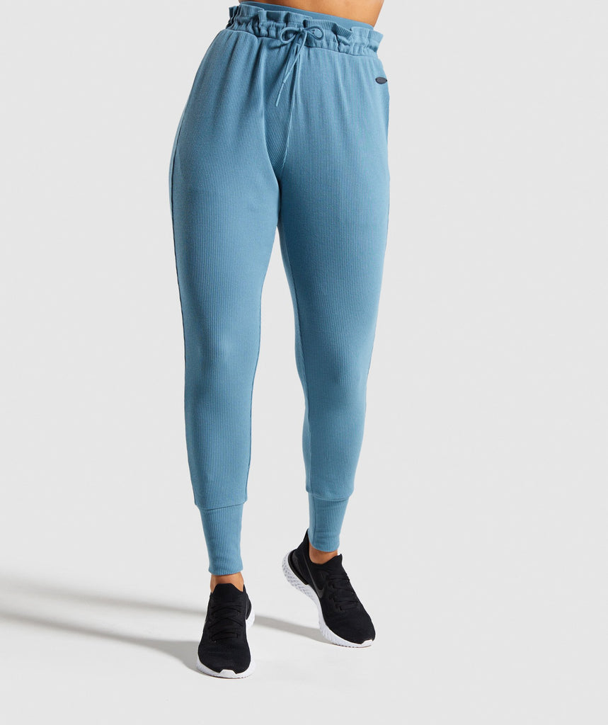 Gymshark Studio Pants - Teal 1