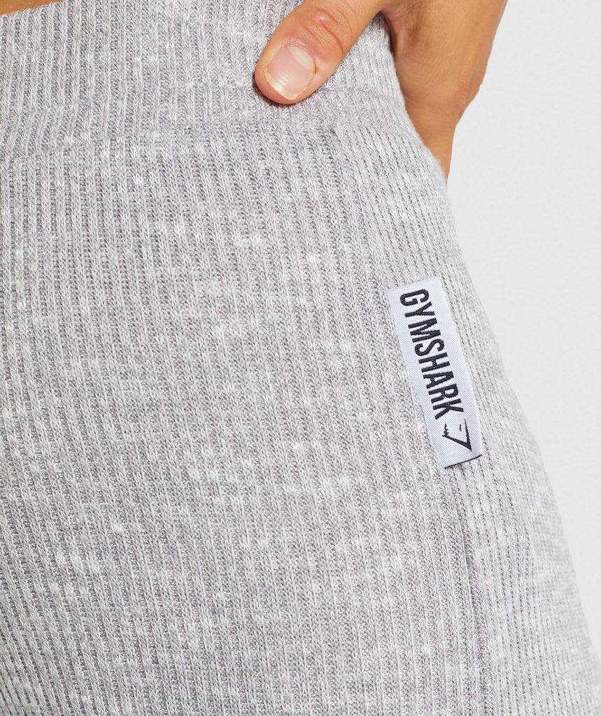 Gymshark Slounge Leggings - Light Grey Marl 5
