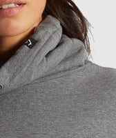 Gymshark Slounge Ribbed Pullover -Charcoal Marl 11