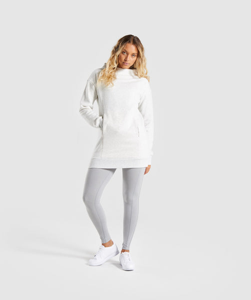 Gymshark So Soft Sweater - Light Grey Marl 4