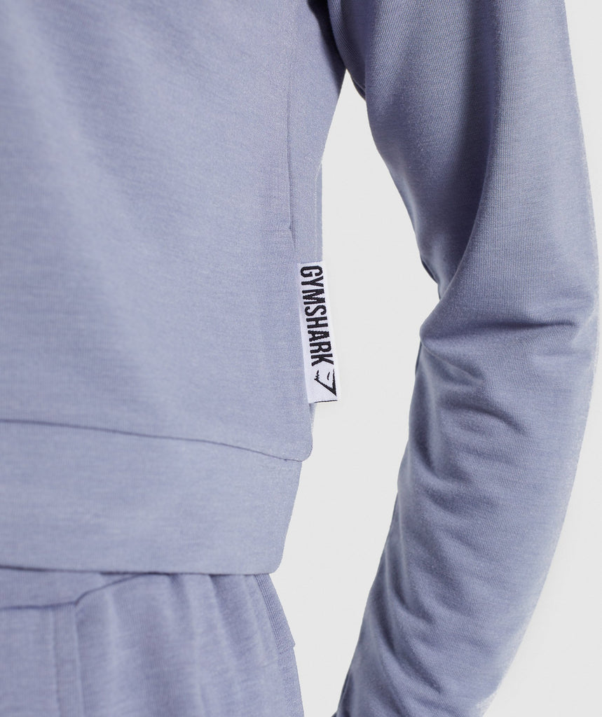 Gymshark Solace Sweater 2.0 - Steel Blue 5