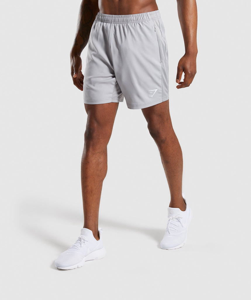 Gymshark Sport Shorts - Light Grey 1