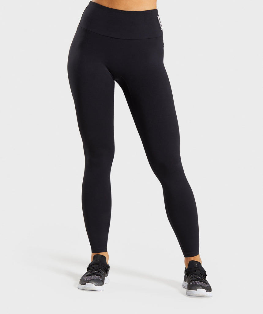 Gymshark Training Leggings - Black 1
