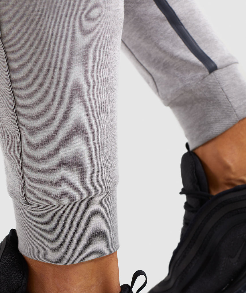 Gymshark Take Over Bottoms - Light Grey Marl 6