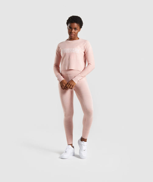 Gymshark Time Out Knit Joggers - Blush Nude 3