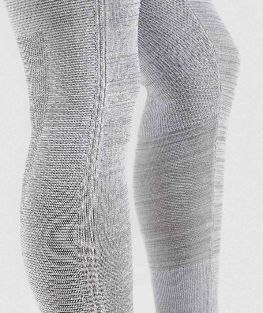 Gymshark Time Out Knit Joggers - Light Grey 5