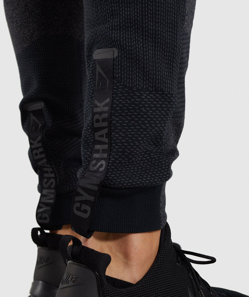 Gymshark Ultra Jacquard Joggers - Charcoal 5