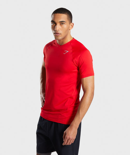 Gymshark Veer T-Shirt - Red 2