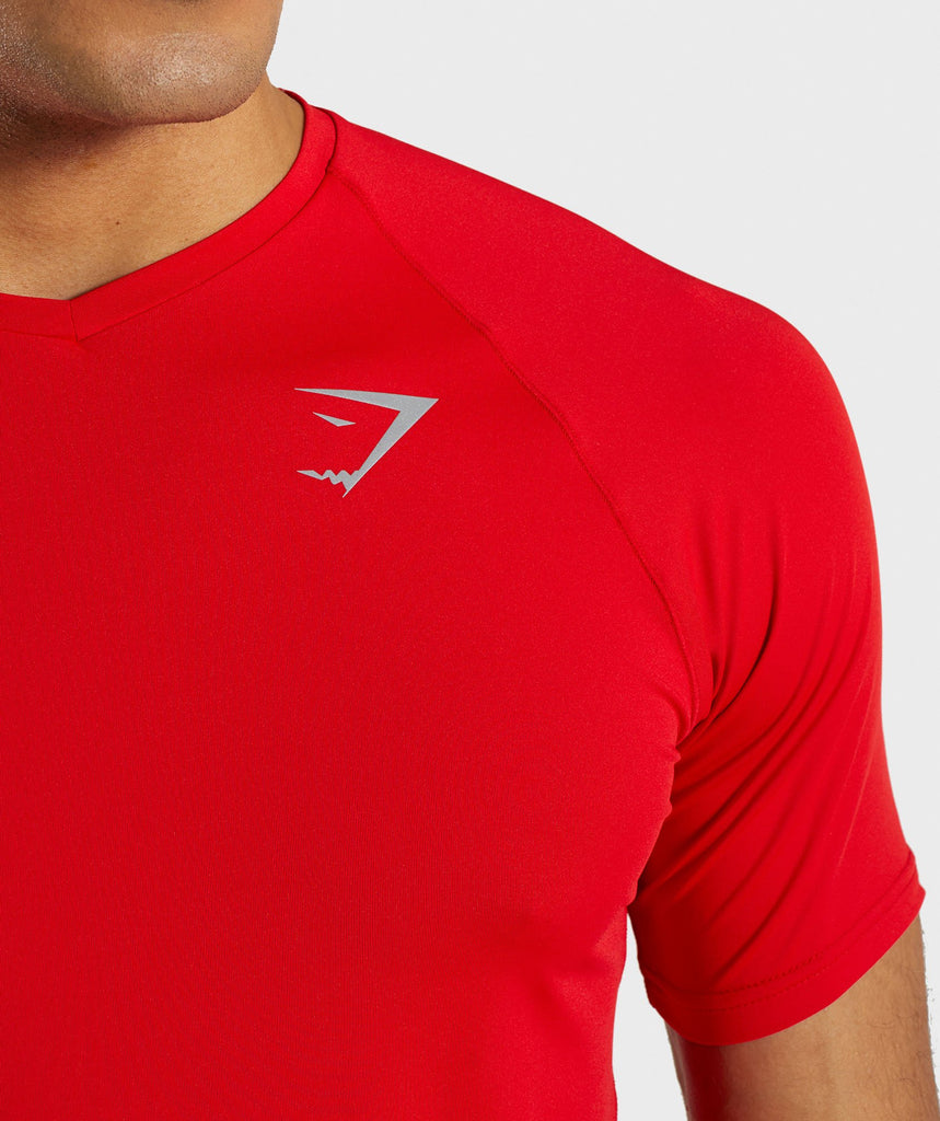 Gymshark Veer T-Shirt - Red 5