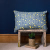 Scatter cushion with feather inner