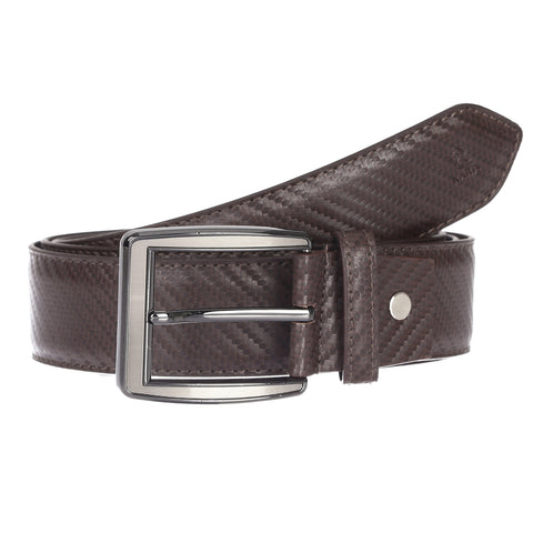 4180 Brown Textured Belt