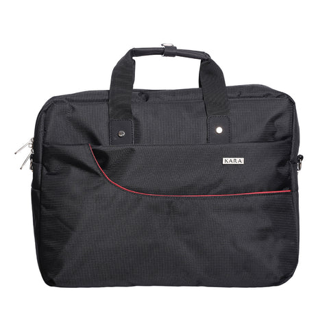 55462 Black Messenger Bag