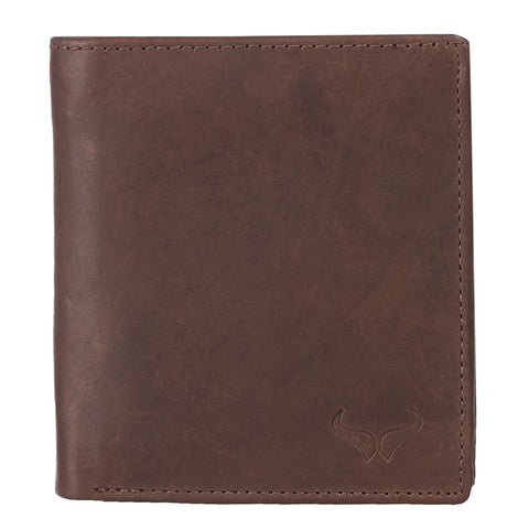 RNM-007 Brown Bifold Wallet