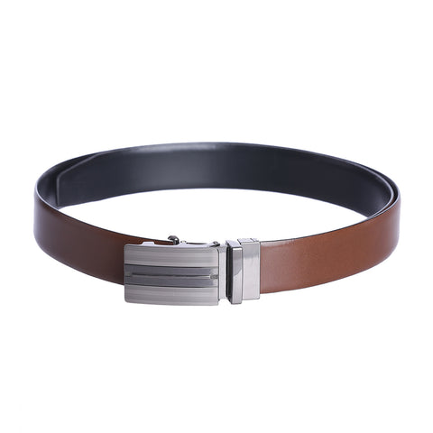 4197 Black & Tan Reversible Belt