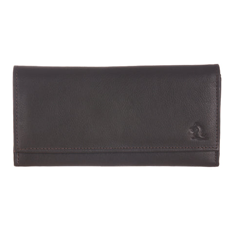 7007 Brown Trifold Wallet