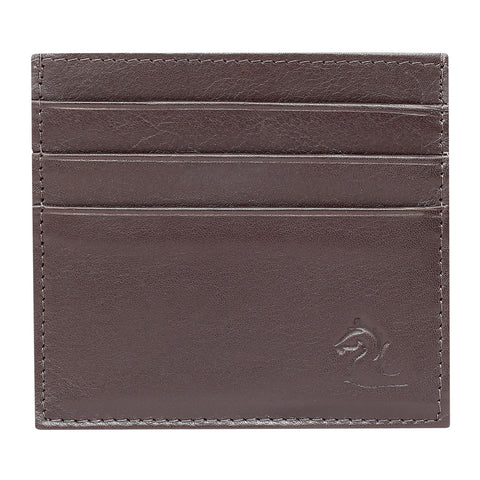 Brown Slim Card Holder