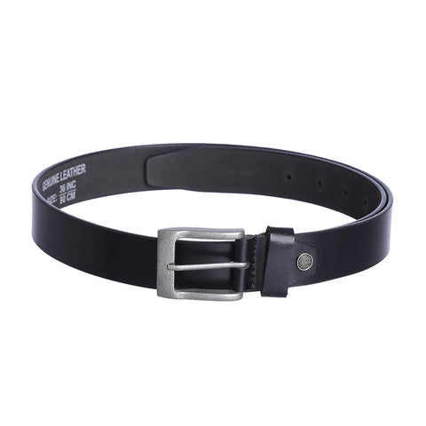 4104 Black Leather Belt for Men