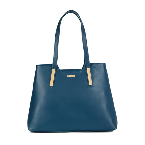 RN-641 Turquoise Tote Bag