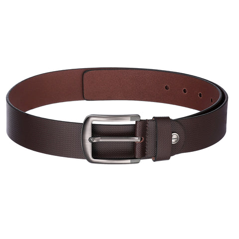 4108 Brown Textured Belt