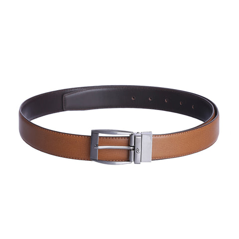 4204 Brown & Tan Reversible Belt