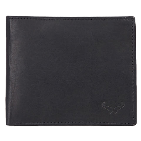 RNM-006 Black Bifold Wallet