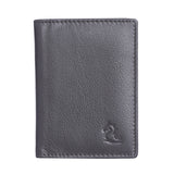 13033 Brown Leather Card Holder for Men and Women