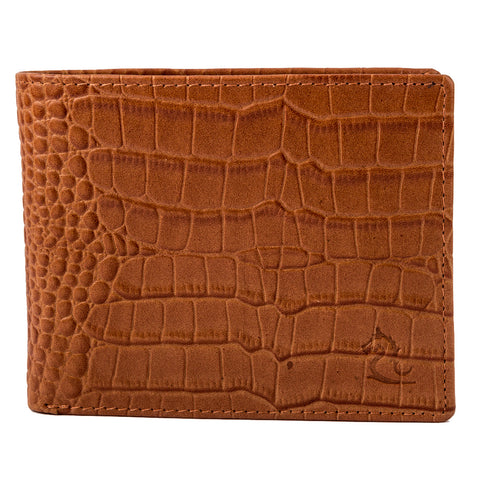 10095 Camel Croco Wallet