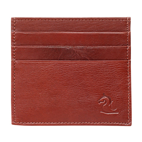 Tan Slim Card Holder