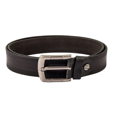 4165 Black Textured Belt