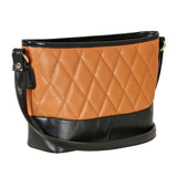 RN-634 Tan & Black Sling Bag