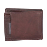 12074 Brown Bifold Wallet