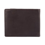 13003 Brown Bifold Coin Wallet