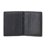 13084 Black Leather Card Holder for Men