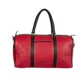 Ecco Cherry & Black Duffel Bag