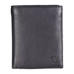 14027 Brown Vertical Bifold Wallet
