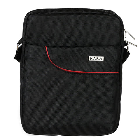 55463 Black Crossbody Bag