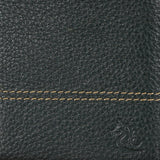 10088 Green Contrast Stitched Wallet