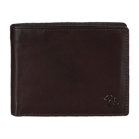 10003 Brown Bifold Coin Wallet